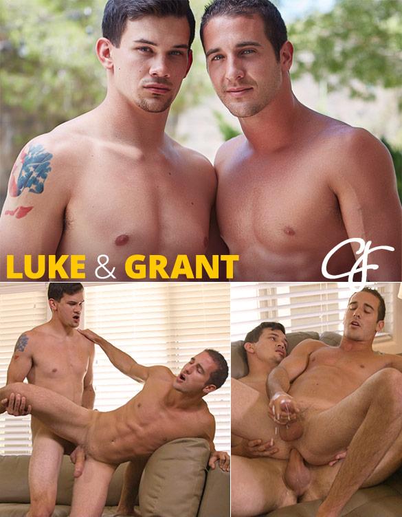 Corbin Fisher: Luke creampies Grant