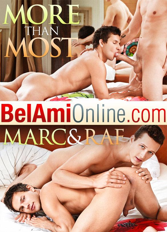 BelAmi: Raf Koons barebacks Marc Ruffalo