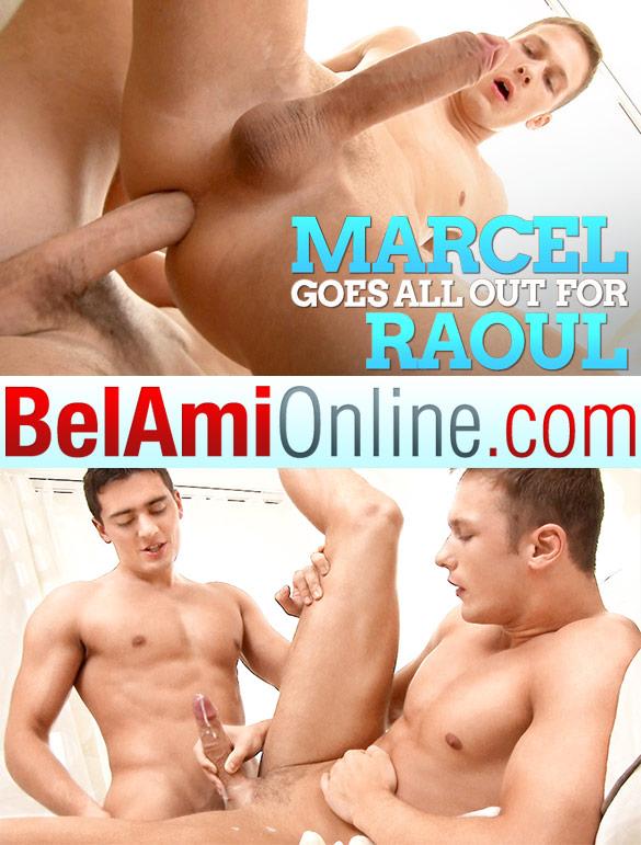 BelAmi: Newcomer Raoul Vargas fucks Marcel Gassion raw