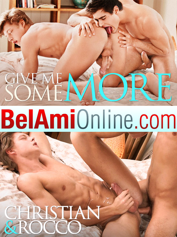 BelAmi: Rocco Alfieri and Christian Lundgren fuck raw (Part 1)