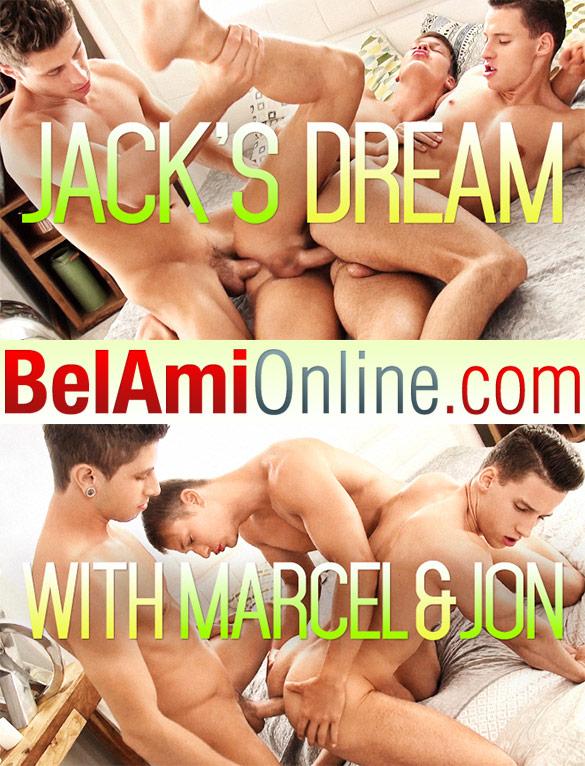 BelAmi: Jack Harrer, Marcel Gassion and Jon Kael's hot bareback threesome