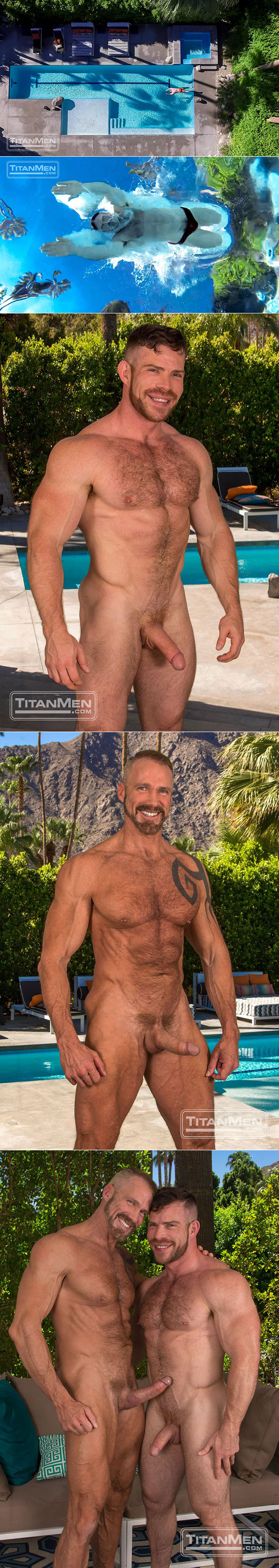 "TitanMen: Dallas Steele and Liam Knox bang each other in ""2 Men Kiss"""