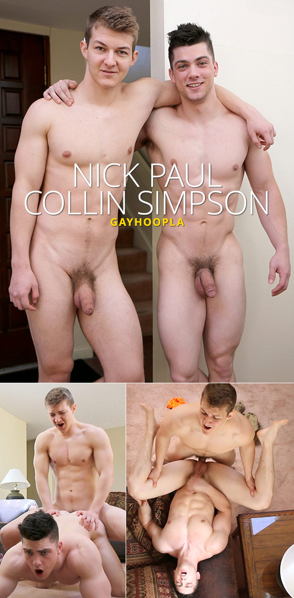 GayHoopla: Nick Paul bangs Collin Simpson