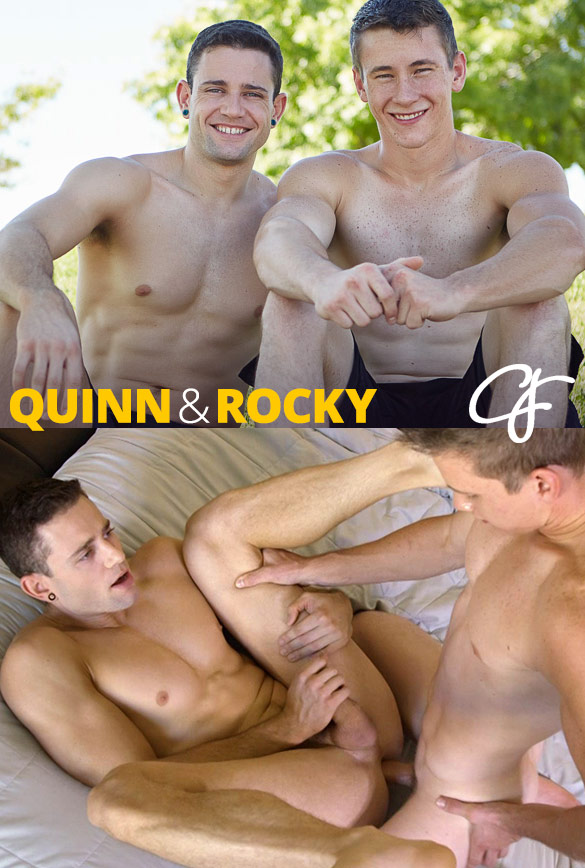 Corbin Fisher: Rocky barebacks Quinn