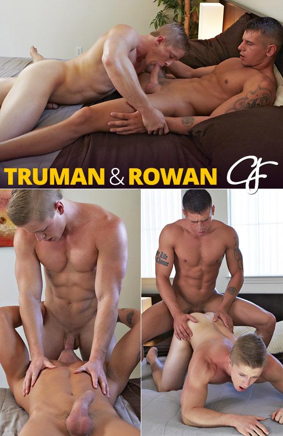 Corbin Fisher: Rowan tops Truman bareback