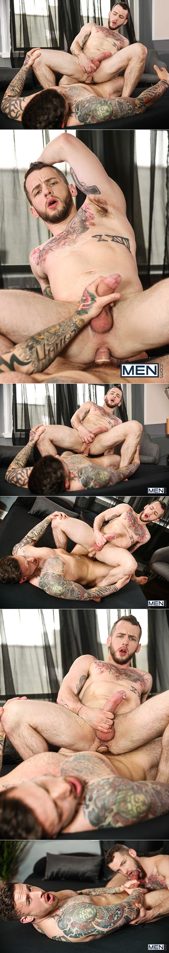 "Men.com: Jordan Levine pounds Colton Grey in ""Last Day on Earth, Part 1"""