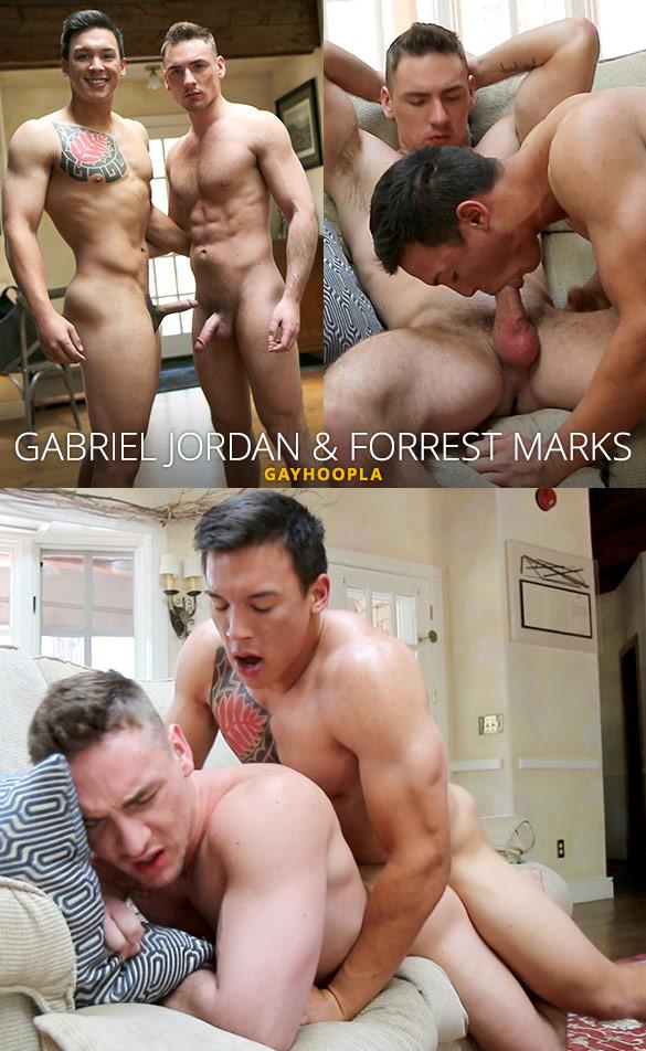 GayHoopla: Gabriel Jordan fucks Forrest Marks