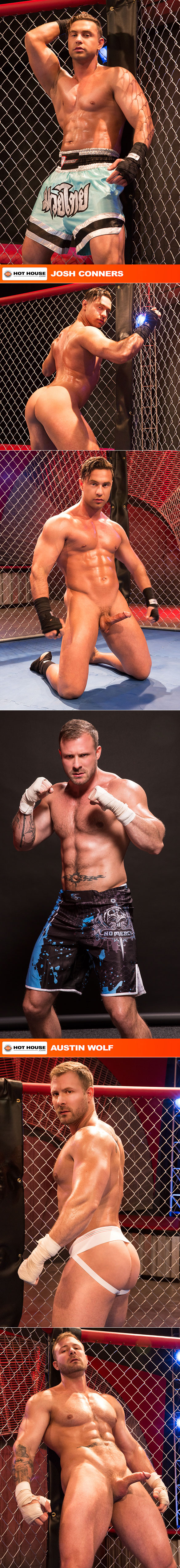 """HotHouse: Austin Wolf bangs Josh Conners in """"TKO Total Knockouts"""""""
