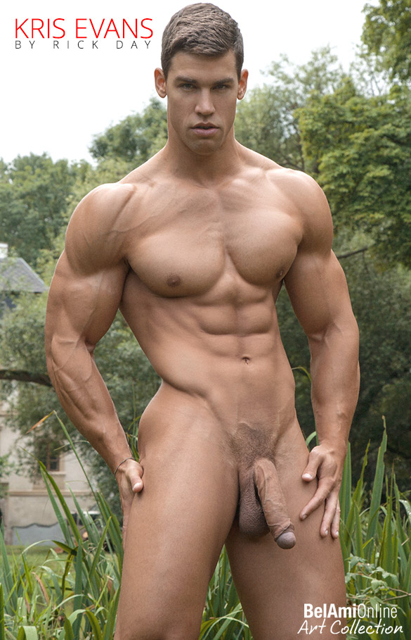 BelAmi: Kris Evans photographed by Rick Day