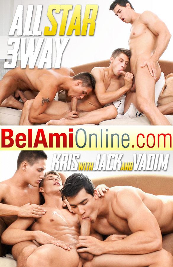"BelAmi: Kris Evans, Vadim Farrell and Jack Harrer's ""All Star 3 Way"" (Part 1)"