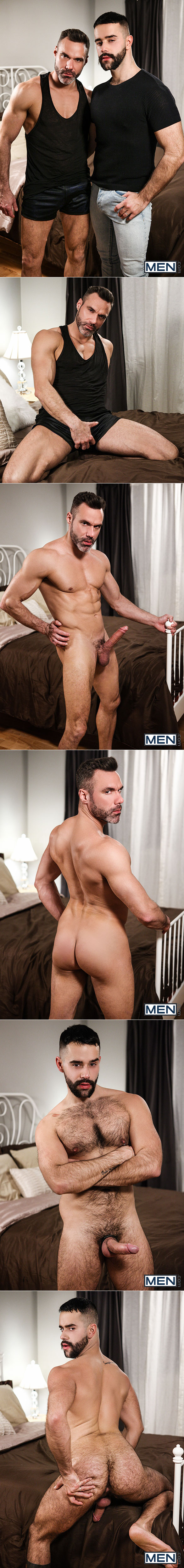 "Men.com: Manuel Skye pounds Teddy Torres in ""Undercover Stripper, Part 3"""