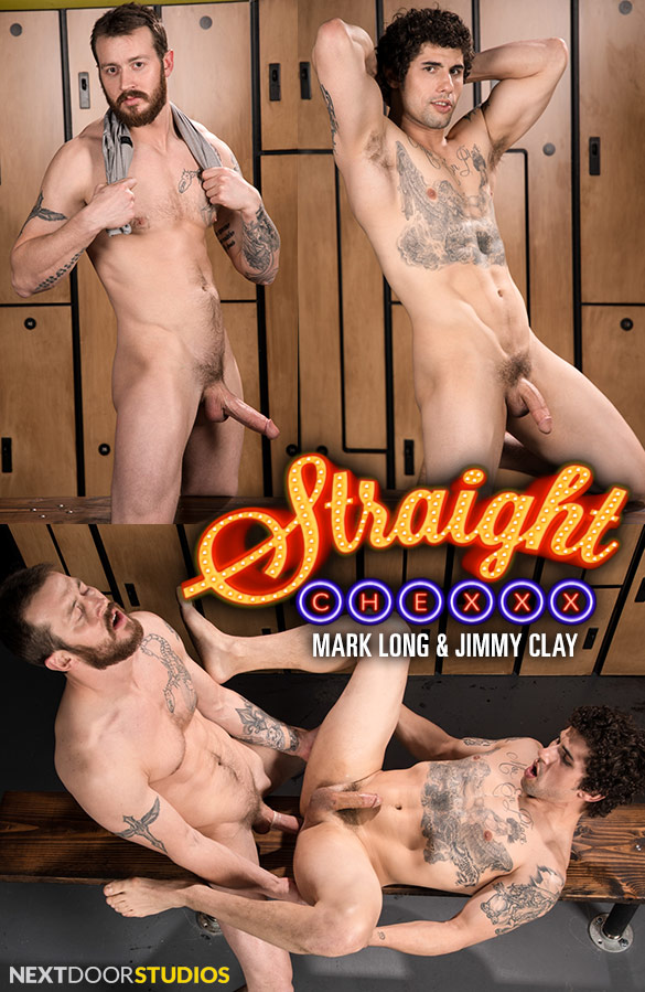 """Next Door Studios: Mark Long fucks Jimmy Clay in """"Straight Chexxx, Episode 1: Daydreams and Tech"""""""