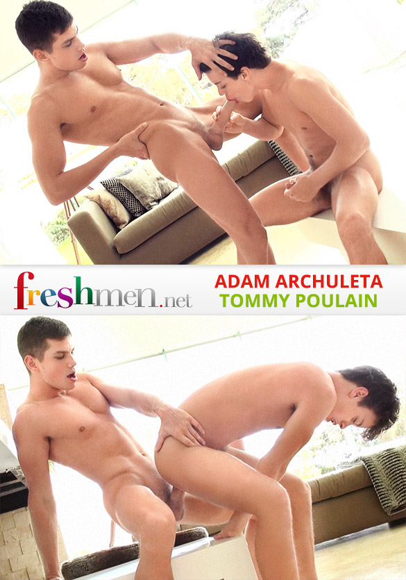 Freshmen.net: Adam Archuleta barebacks Tommy Poulain