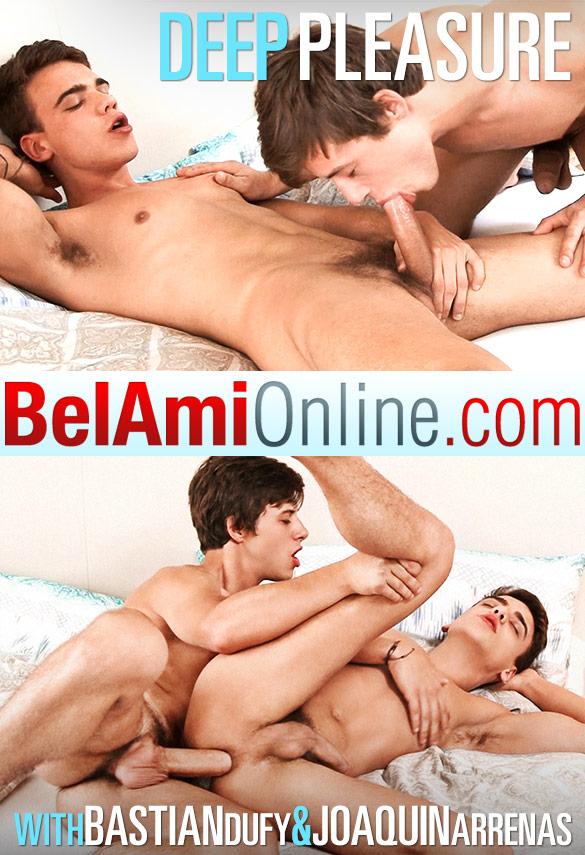 BelAmi: Bastian Dufy barebacks Joaquin Arrenas