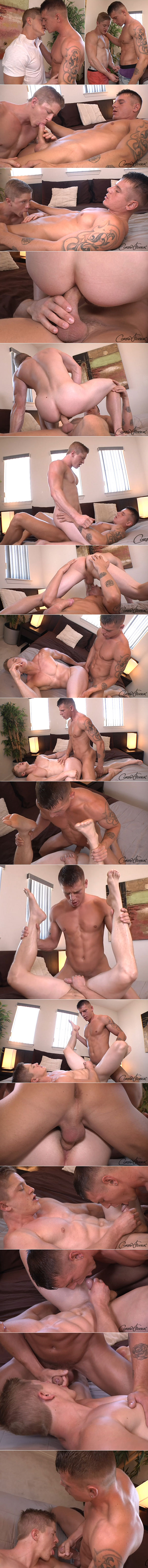 "NakedSword: Corbin Fisher's ""Collegiate Cum Swapping"""