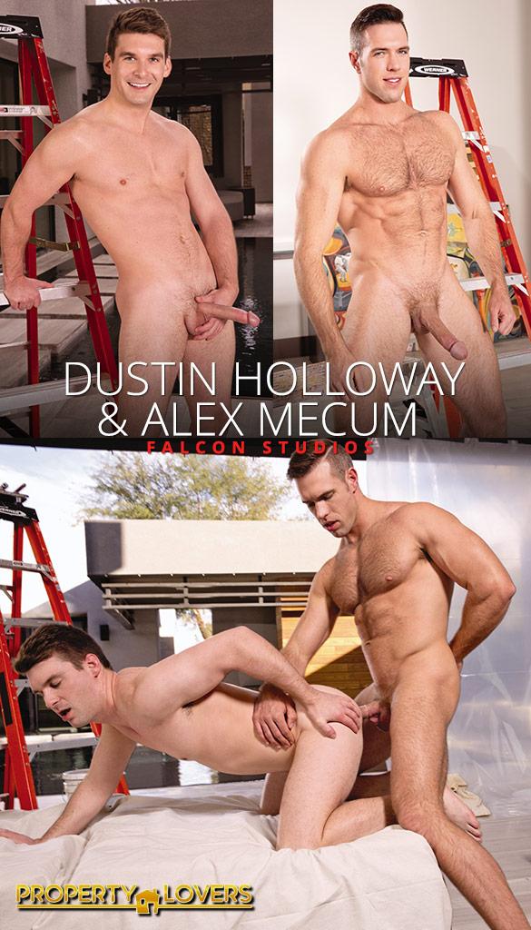 "Falcon Studios: Alex Mecum fucks Dustin Holloway in ""Property Lovers"""