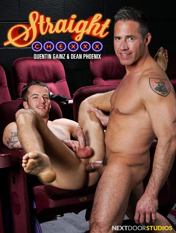 "Next Door Studios: Quentin Gainz bottoms for Dean Phoenix in ""Straight Chexxx, Episode 3: Surprise!"""