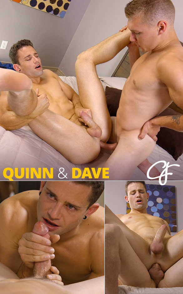 Corbin Fisher: Dave deep dicks Quinn raw