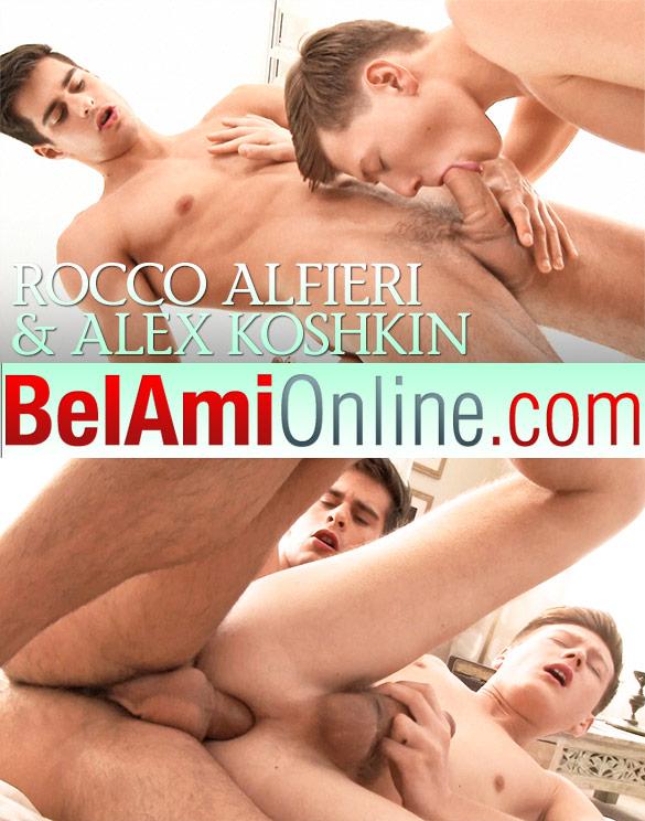 BelAmi: Rocco Alfieri barebacks Alex Koshkin