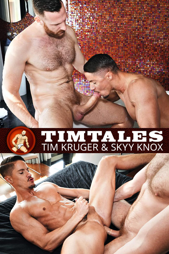 TimTales: Skyy Knox bottoms for Tim Kruger and massive cock