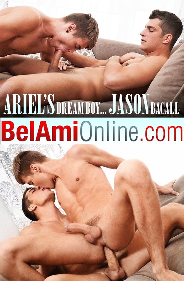 BelAmi: Ariel Vanean barebacks Jason Bacall