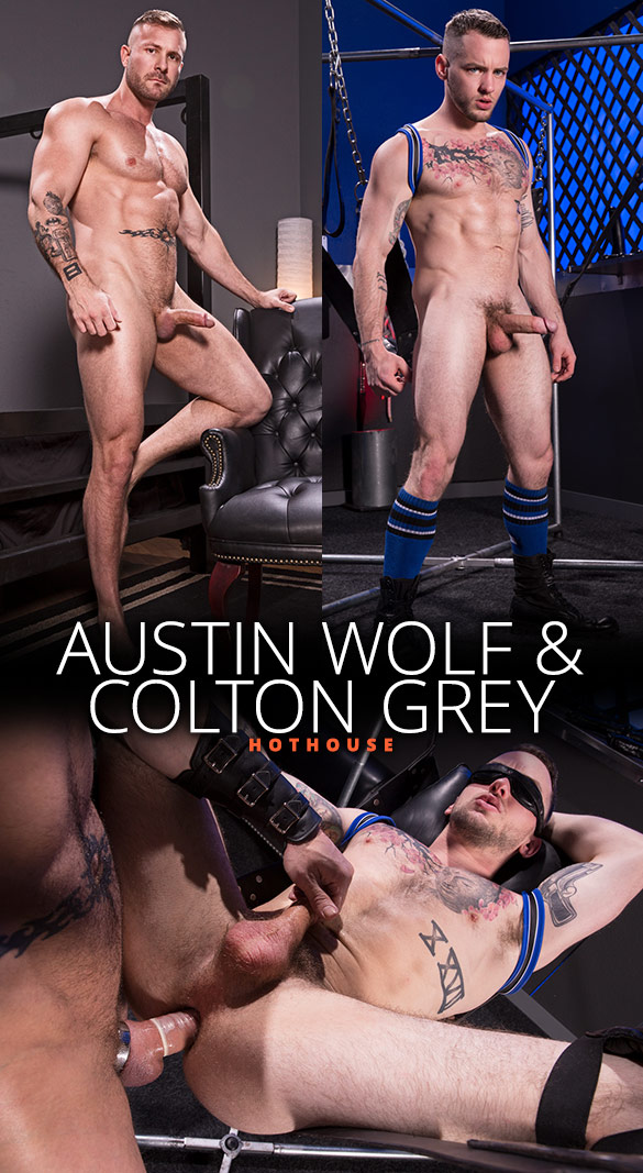 "HotHouse: Austin Wolf fucks Colton Grey in ""Blindfolded"""