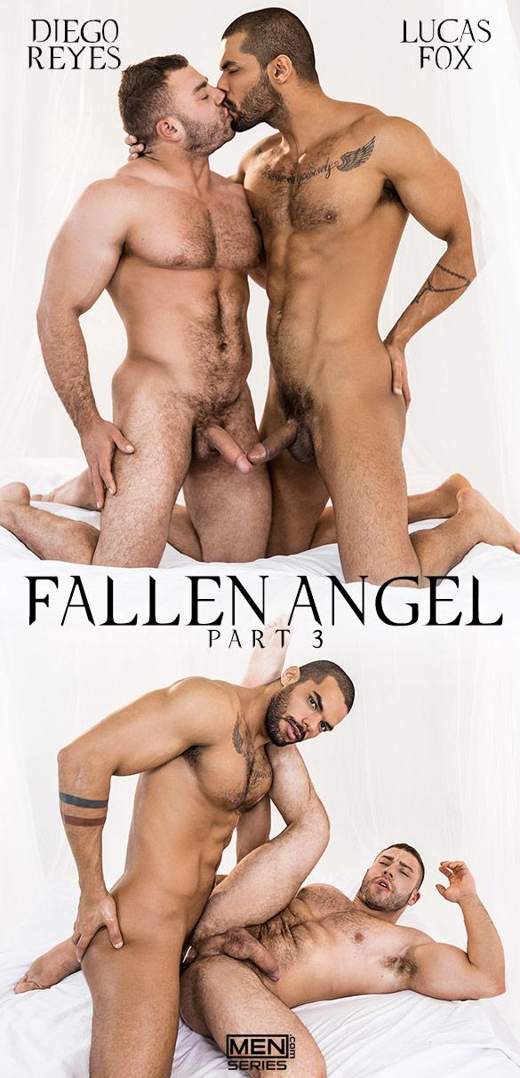 """Men.com: Lucas Fox fucks Diego Reyes in """"Fallen Angel, Part 3"""""""