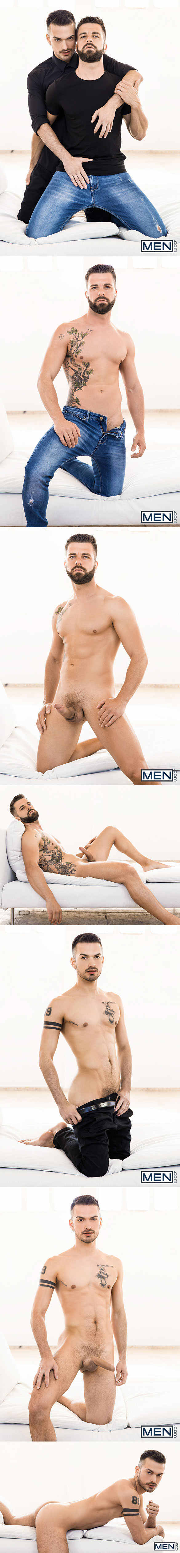 "Men.com: Hector de Silva fucks Jean Favre in ""The Parlor, Part 2"""