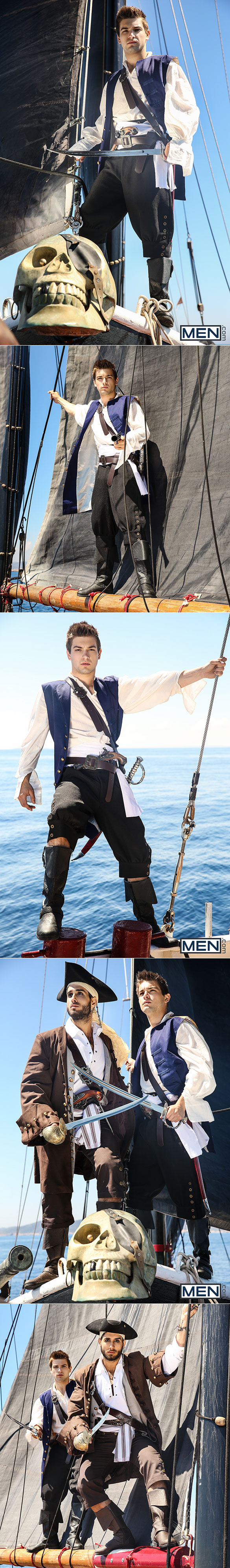 "Men.com: Diego Sans fucks Johnny Rapid in ""Pirates: A Gay XXX Parody, Part 1"""