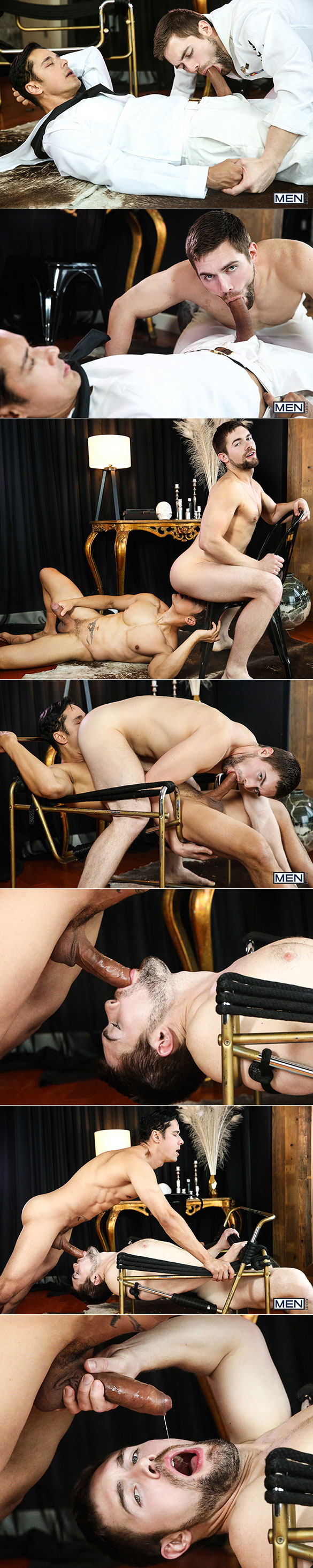 "Men.com: Big-dicked Rafael Alencar bangs Griffin Barrows in ""Fleet Week, Part 1"""