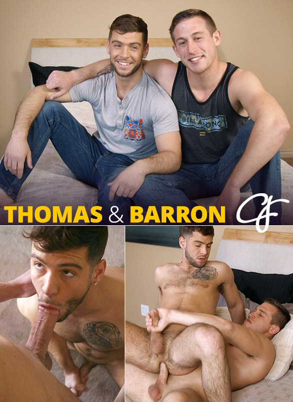 Corbin Fisher: Thomas rides Barron bareback