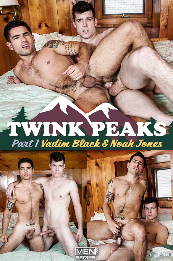 "Men.com: Noah Jones fucks Vadim Black in ""Twink Peaks, Part 1"""