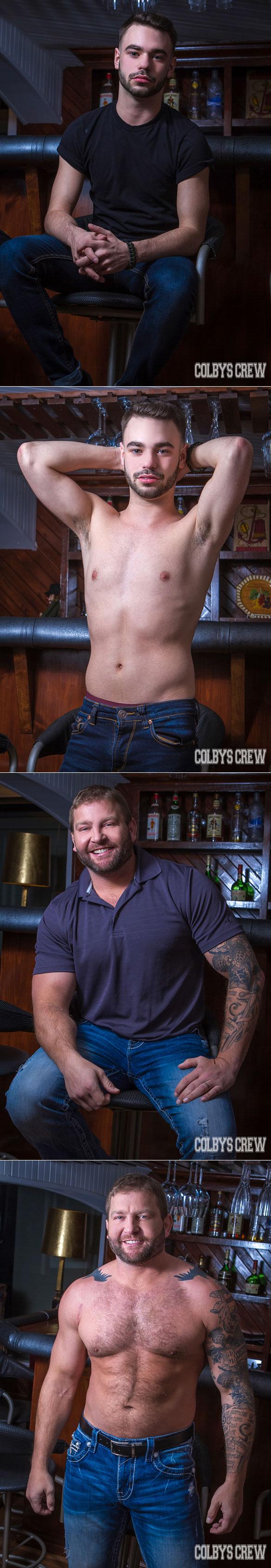 Colby's Crew: Colby Jansen fucks Zac Hunter Cabin Buddies, Part 1