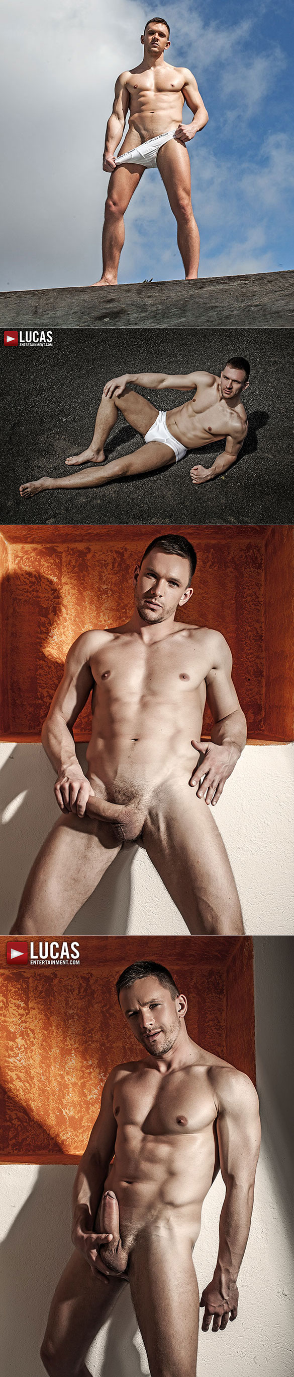 """Lucas Entertainment: Andrey Vic and Bogdan Gromov bang Dani Robles and Andy Star raw in """"Fuck n Cuck"""""""