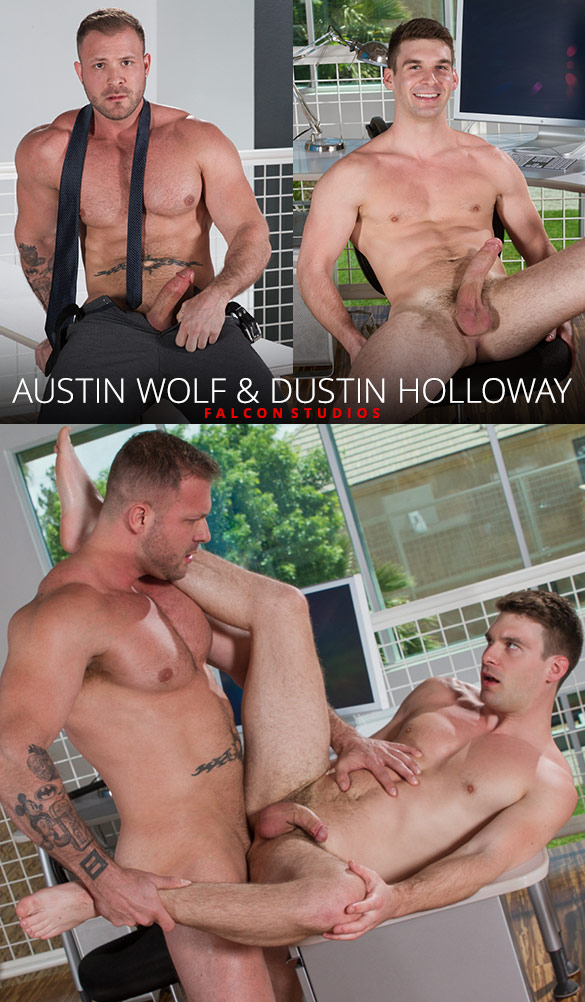 Falcon Studios: Austin Wolf fucks Dustin Holloway