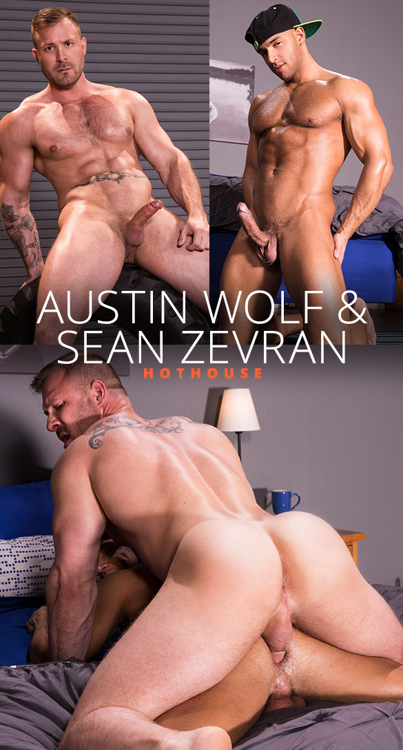 "HotHouse: Austin Wolf bangs Sean Zevran in ""Overpowered"""
