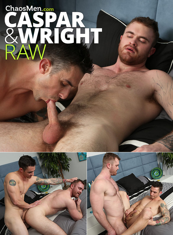 ChaosMen: Caspar and Wright fuck each other raw