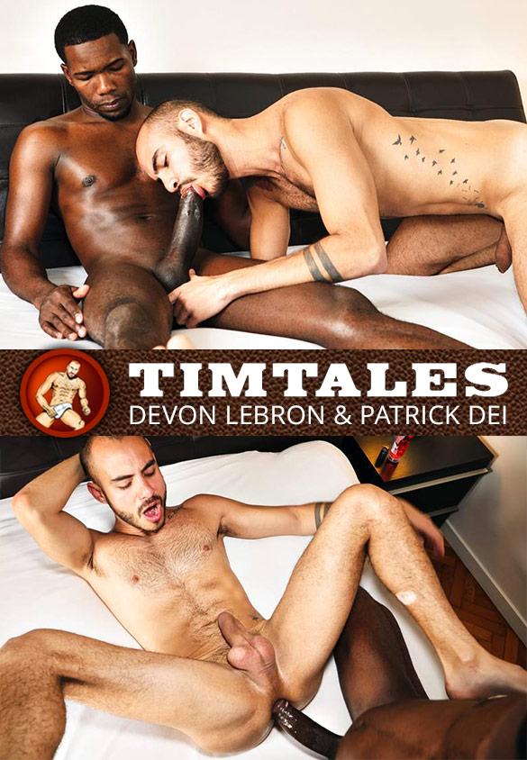TimTales: Patrick Dei takes Devon Lebron's 10-inch dick bareback