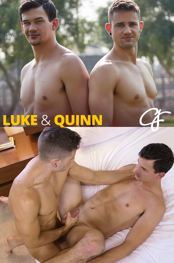 Corbin Fisher: Quinn creampies Luke