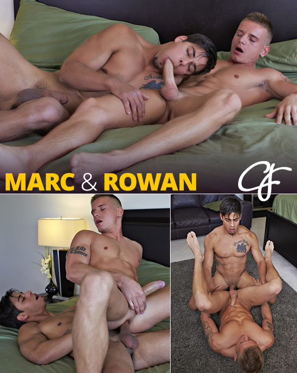 Corbin Fisher: Marc bangs Rowan bareback