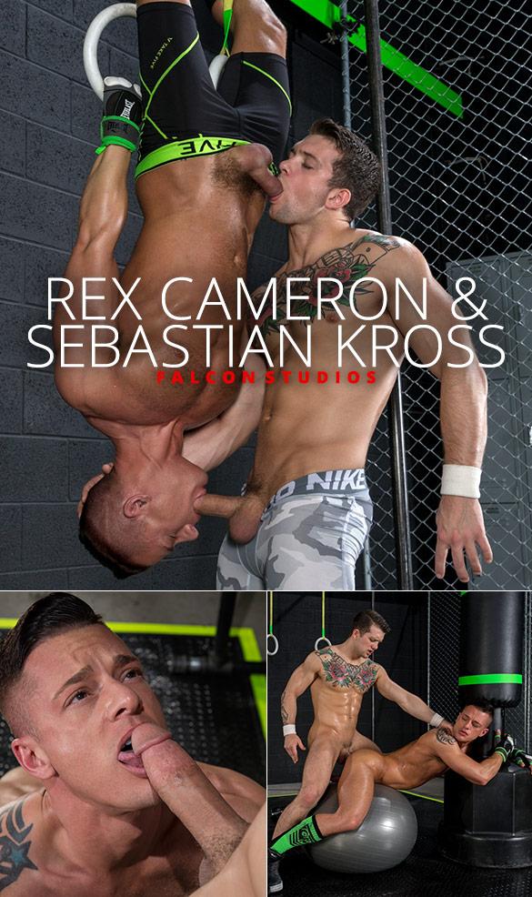 Falcon Studios: Rex Cameron bottoms for Sebastian Kross