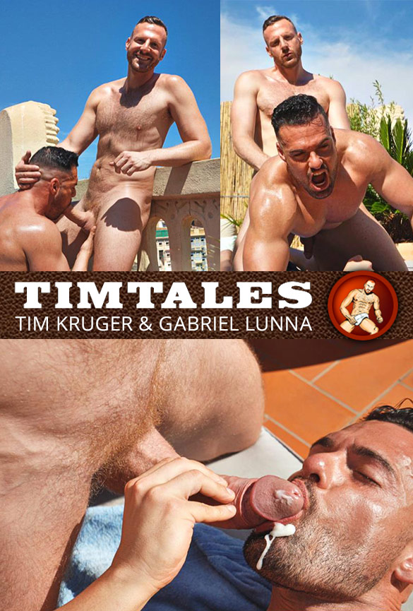 TimTales: Tim Kruger fucks Gabriel Lunna