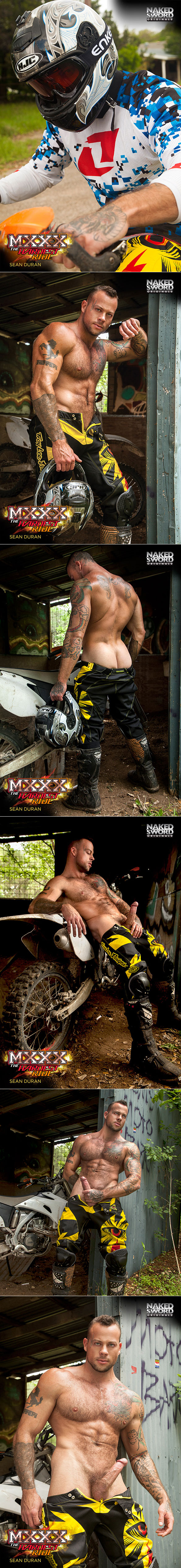 "NakedSword Originals: Tom Faulk fucks Sean Duran in ""MXXX - The Hardest Ride, Episode 1: The Bet Is On"""