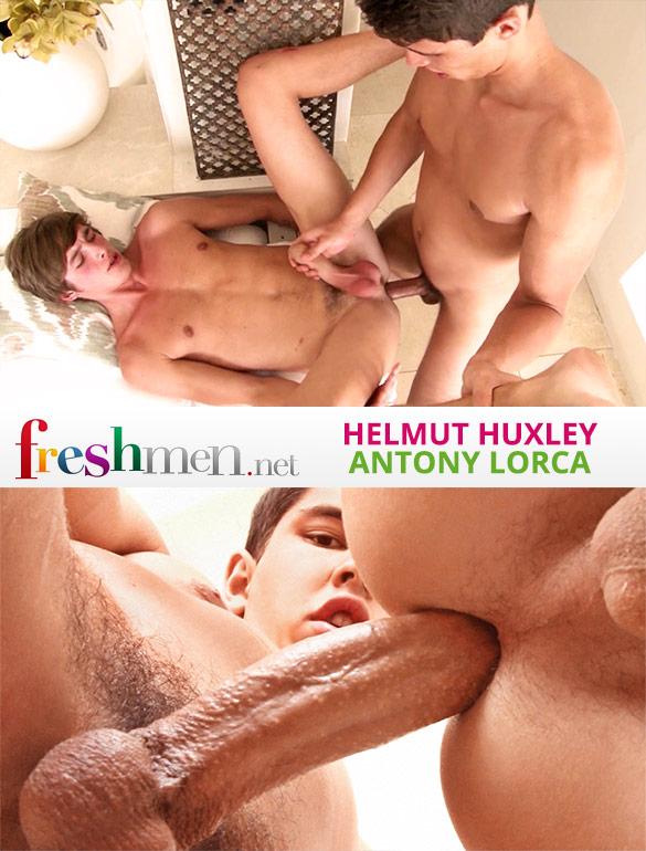 Freshmen.net: Antony Lorca barebacks Helmut Huxley