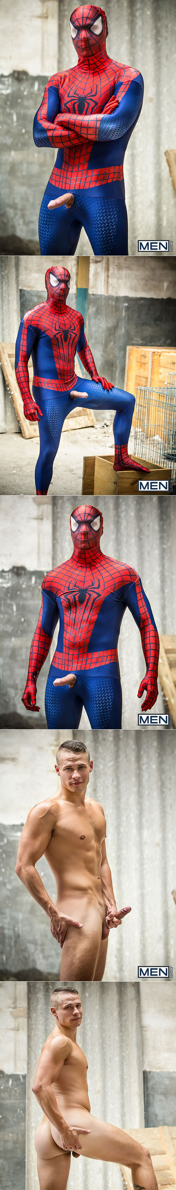 "Men.com: Will Braun fucks Aston Springs in ""Spiderman: A Gay XXX Parody, Part 2"""