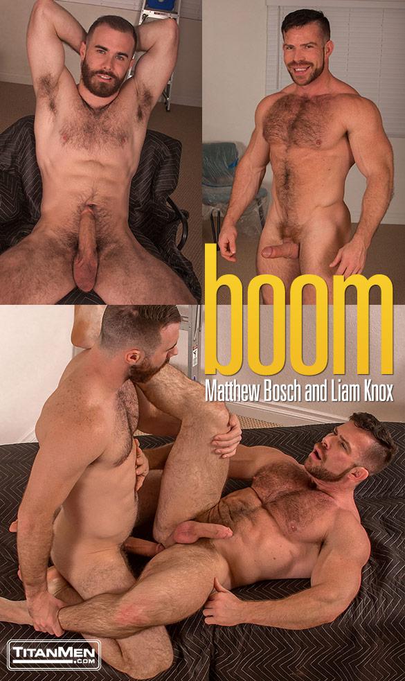 "TitanMen: Matthew Bosch fucks Liam Knox in ""Boom"""
