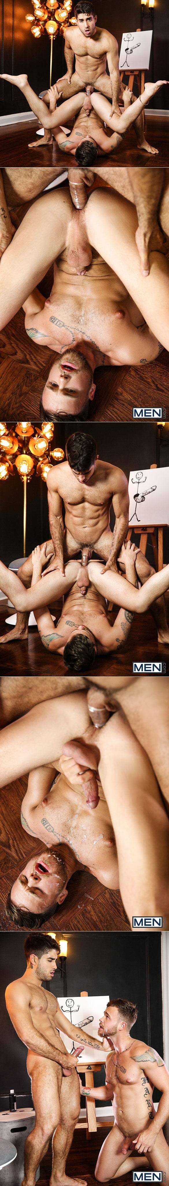 "Men.com: Diego Sans fucks Max Wilde in ""The Artist"""
