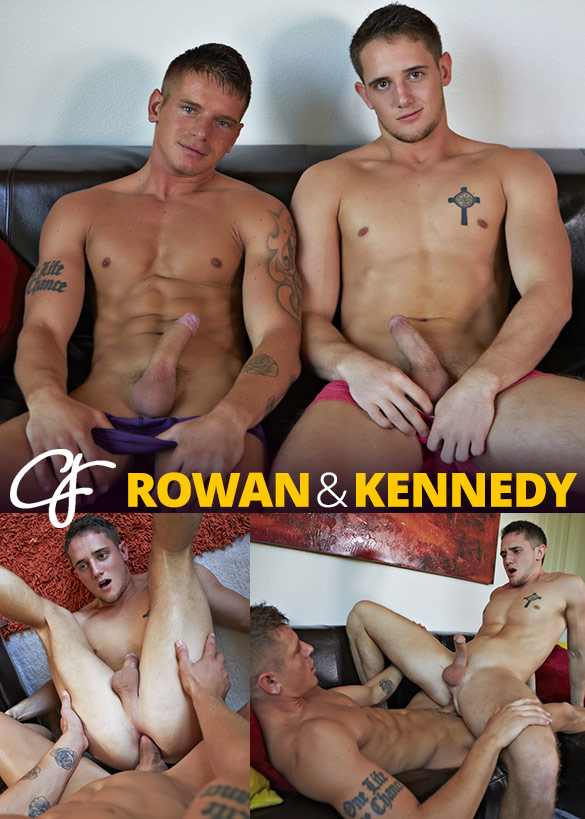 Corbin Fisher: Kennedy rides Rowan bareback