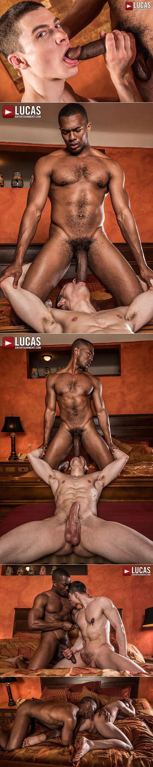 """Lucas Entertainment: Sean Xavier breeds Ruslan Angelo in """"Bare Tenders"""""""