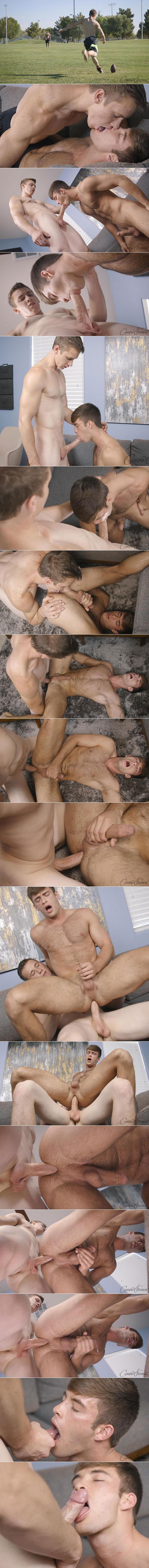 Corbin Fisher: Rocky fucks Beau's virgin ass